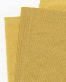 【お買い物マラソン】筋入クラフト紙 34.5k 全紙半才 200枚 当日発送応相談 包装材料 片艶紙 包装紙 筋入りハトロン紙 ラッピング
