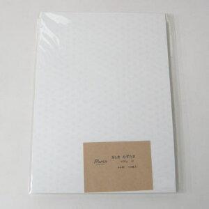 玉しき/みずたま 90k 白 共用紙 A6 200枚 印刷用紙 ファンシーペーパー 特殊紙