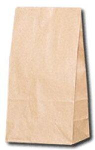 角底袋 (未晒無地)No8巾155mm ×マチ95mm ×高320mm 100枚入 紙袋