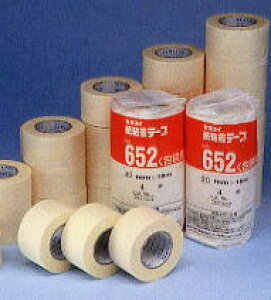 紙粘着テープNo.652(12mm ×18m)10巻入り