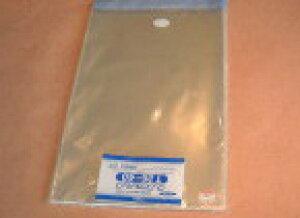 T26-40 HEIKO クリスタルパックTテープ付き巾260mm *高さ400mm +40mm 厚0.03mm 100枚入 化成品袋 OPP袋 透明ポリ ポリ袋 ポリプロピレン