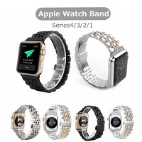 applewatchSeries444mm40mm対応バンド304ステンレス高級ステンレス鋼交換ベルト42mm用38mm用アップルウォッチバンド44mm40mm耐久性錆びにくい丈夫高級高品質アップルウォッチシリーズ4対応ビジネスオシャレ高級感applewatchバンド