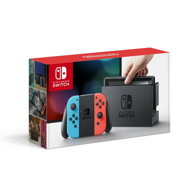 ★即納★【新品】【NSW】 Nintendo Switch Joy-Con(L) ネオンブルー/(R) ネオンレッド [ニンテンドー スイッチ 本体][HAC-S-KABAA][お一人様1点限り]