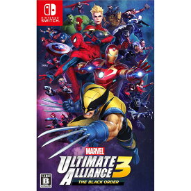 MARVEL ULTIMATE ALLIANCE 3: The Black Order Nintendo Switch 新品 NSW (HAC-P-APY2A)