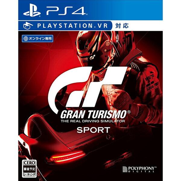 【新品】【PS4】 グランツーリスモSPORT 通常版 [PCJS-53021]
