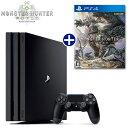 発売日前日出荷【予約】【PS4】 2018年1月26日発売予定 モンスターハンター:ワールド ソフト+ PlayStation4 Pro 本…