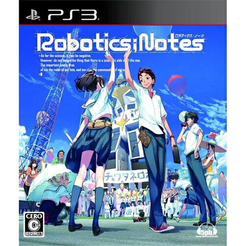 【新品】【PS3】 ROBOTICS;NOTES (ロボティクス・ノーツ) 通常版 オリジナル特典:テレカ付き [BLJM-60466]