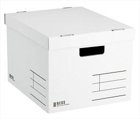 コクヨ (A4-NELB-W) 収納ボックス<NEOS>(Lサイズ)白