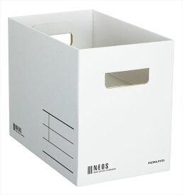 コクヨ (A4-NEMB-W) 収納ボックス<NEOS>(Mサイズ)白