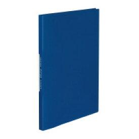 コクヨ (ラ-FT20B) クリヤーブック<FITUS>固定式 20枚ポケット 2穴とじ具付き 青