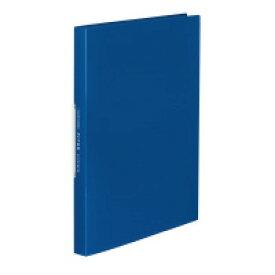 コクヨ (ラ-FT40B) クリヤーブック<FITUS>固定式 40枚ポケット 2穴とじ具付き 青