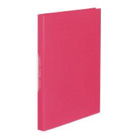 コクヨ (ラ-FT40P) クリヤーブック<FITUS>固定式 40枚ポケット 2穴とじ具付き ピンク