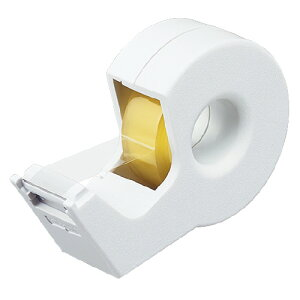 コクヨ(T-SM300NW)テープカッター<カルカット> ハンディタイプ小巻き 白