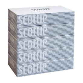 日本製紙クレシア(41738) スコッティ ティシュー 200組×5箱
