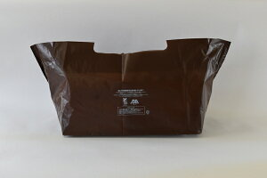 【バイオマス 袋】バイオマスランチバッグ ブラウン No.51(1セット100枚入)