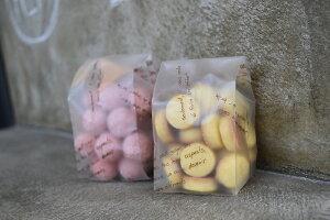 【乾燥剤対応】マット地クッキー袋メサージュショコラM (1セット100枚入)【ラッピング 袋】