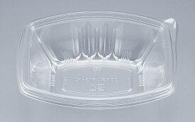 COPタル角19−14本体 (600個/ケース) 使い捨て サラダ 惣菜 麺 ボウル 透明 プラスチック容器 ワンプッシュオープン