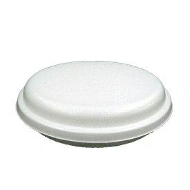 発泡容器 VK-25 無地 本体・共蓋セット (600枚/ケース)《メーカー直送》シーピー化成 使い捨て 業務用 発泡容器 お好み焼き フードパック