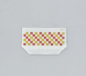 タートルパック JAA27-16 チェックT (3000枚/ケース)使い捨て 軽食用 包装資材 ホットドッグ 唐揚げ ミニトマト 業務用