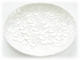 Jenggala ジェンガラ ケラミック Frangipani Dinner Plate
