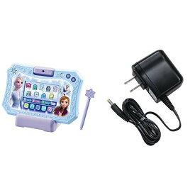 ディズニー アナと雪の女王2 ドリームカメラタブレットとタカラトミー 玩具専用 AC アダプター TYPE5 (2016NEW)のセット