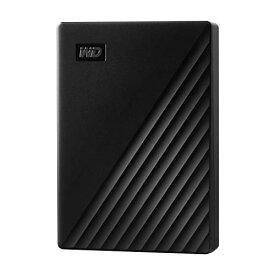 WD ポータブルHDD 5TB USB3.0 ブラック My Passport 暗号化 パスワード保護 外付けハードディスク / 3年保証 WDBPKJ0050BBK-WESN
