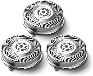 SH50/ 51/52 フィリップス対応 シェーバー 替刃 5000シリーズ カミソリ 電気シェーバー交換用カッターチップ HQ8交換用ヘッドのアップグレードバージョン Ligefoy