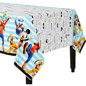 ディズニー ミッキーマウス 243cm×137cm テーブルカバー アムスキャン
