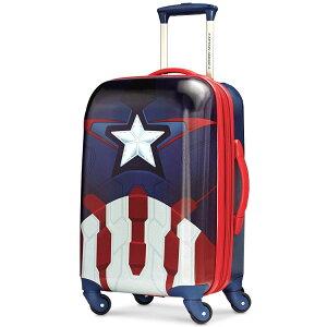 【決算セール割引商品】アメリカンツーリスター アベンジャーズ キャプテン・アメリカ キャリーバッグ スピナー ハード 機内持込み