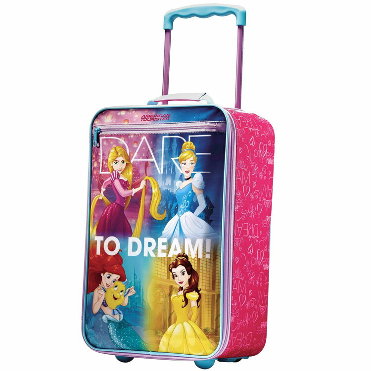 American Tourister キャリーバッグ アメリカンツーリスター ディズニー プリンセス アップライト ソフト 機内持込み