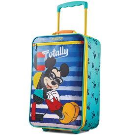 キャリーバッグ ディズニー ミッキー アップライト ソフト キャリーケース 旅行 コロコロ アメリカンツーリスター
