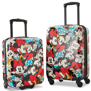 サムソナイト アメリカンツーリスター ミニー スーツケース スピナー 2個セット ディズニー キャリーバッグ