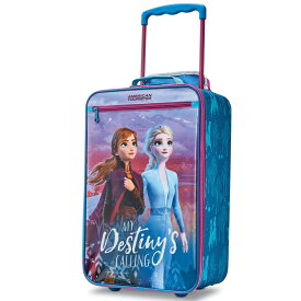 アメリカンツーリスター ディズニー アナと雪の女王2 ソフト キャリーバッグ 3歳から 機内サイズ サムソナイト