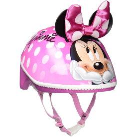 ディズニー ミニーマウス キッズ ヘルメット 女の子 自転車 3D ハードシェル Sサイズ