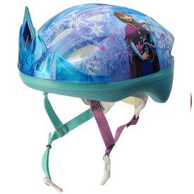 子ども用ヘルメット ディズニー アナと雪の女王 3D ティアラ 幼児サイズ キャラクター 子供用ヘルメット 自転車 BELL