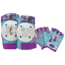 子供用プロテクター ディズニー アナと雪の女王 肘当て 膝当て 手のひら ガード 子ども用 保護 キッズ サポーター 自転車