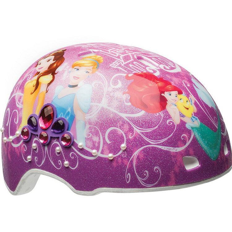 BELL 子供用ヘルメット プロテクター ディズニー プリンセス パール