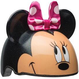 キッズ ヘルメット ディズニー ミニーマウス 女の子 自転車 ディズニー 3D ハードシェル Sサイズ