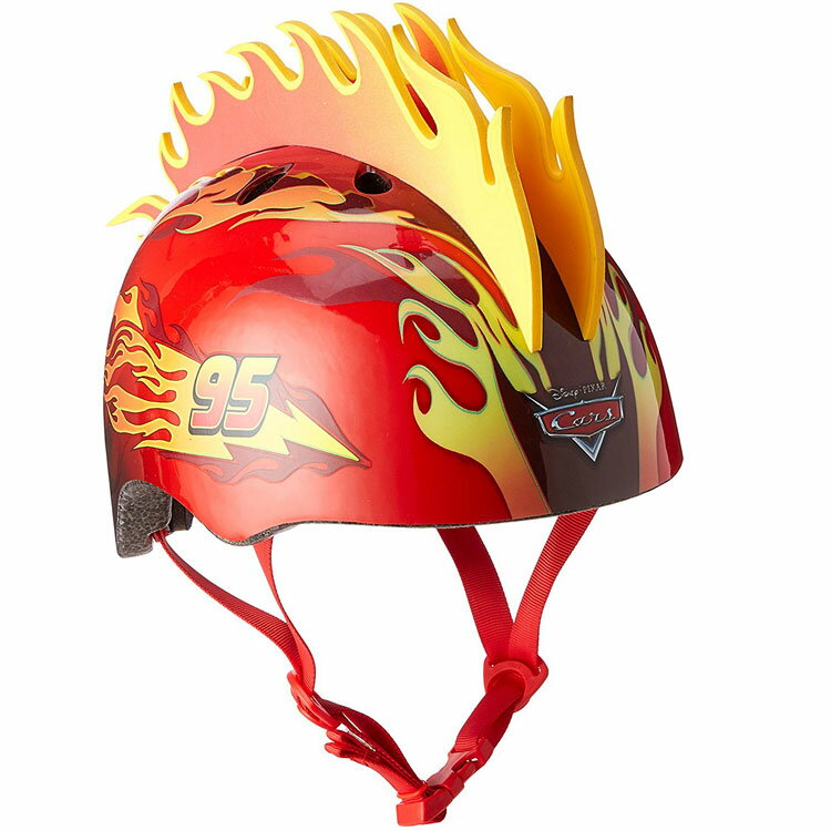 【AFTER SALE★割引商品】BELL 幼児用ヘルメット プロテクター ディズニー カーズ 3D