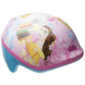【割引クーポン有】ディズニー プリンセス ピンク×ブルー ヘルメット 子供用 自転車 キッズ キャラクター プロテクター ベル BELL