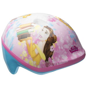【P2倍・8月8日26時〜+クーポン有】ディズニー プリンセス ピンク×ブルー ヘルメット 子供用 自転車 キッズ キャラクター プロテクター ベル BELL