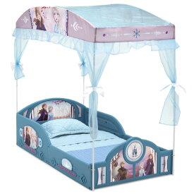 デルタ 子供用ベッド プレイスペース ディズニー アナと雪の女王2 子ども用 キャノピー付き トドラーベッド キッズ 幼児 子供部屋 DELTA
