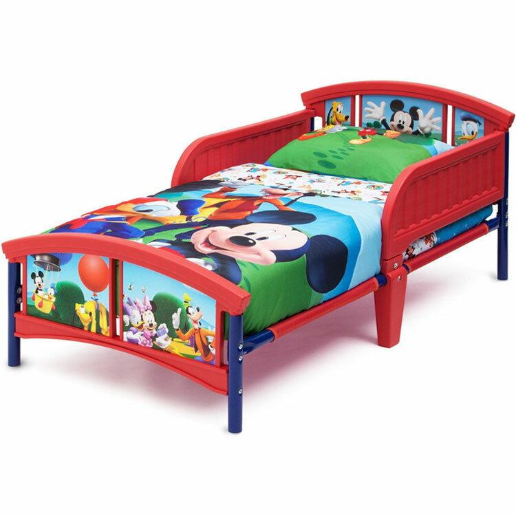 デルタ ディズニー ミッキーマウス トドラーベッド 子供 3-6歳