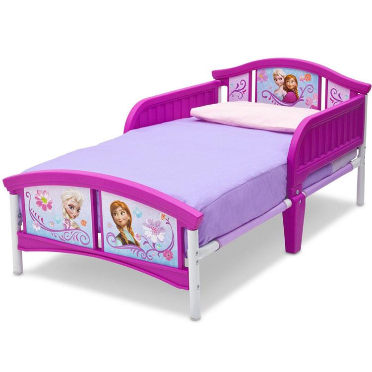 1月24日入荷予約販売/ Delta デルタ ディズニー アナと雪の女王トドラーベッド 子供 女の子 3-6歳