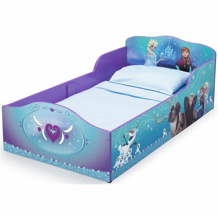 Online ONLY(海外取寄)/ デルタ ディズニー アナと雪の女王 ウッデン 子供用 ベッド 女の子 1歳半から