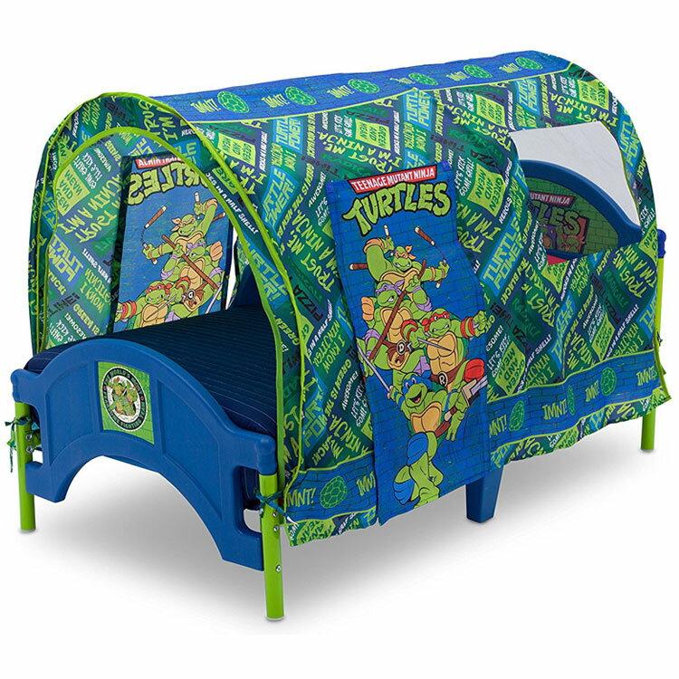 デルタ ニンジャ タートルズ テント付き 子供用ベッド 男の子 2歳から