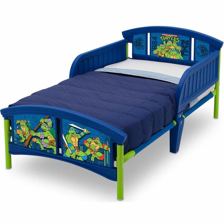 Online ONLY(海外取寄)/ デルタ ニンジャ タートルズ 子供用ベッド 男の子 3-6歳 トドラーサイズ