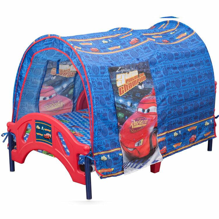 デルタ ディズニー カーズ テント付き 子供用ベッド 男の子 2歳から