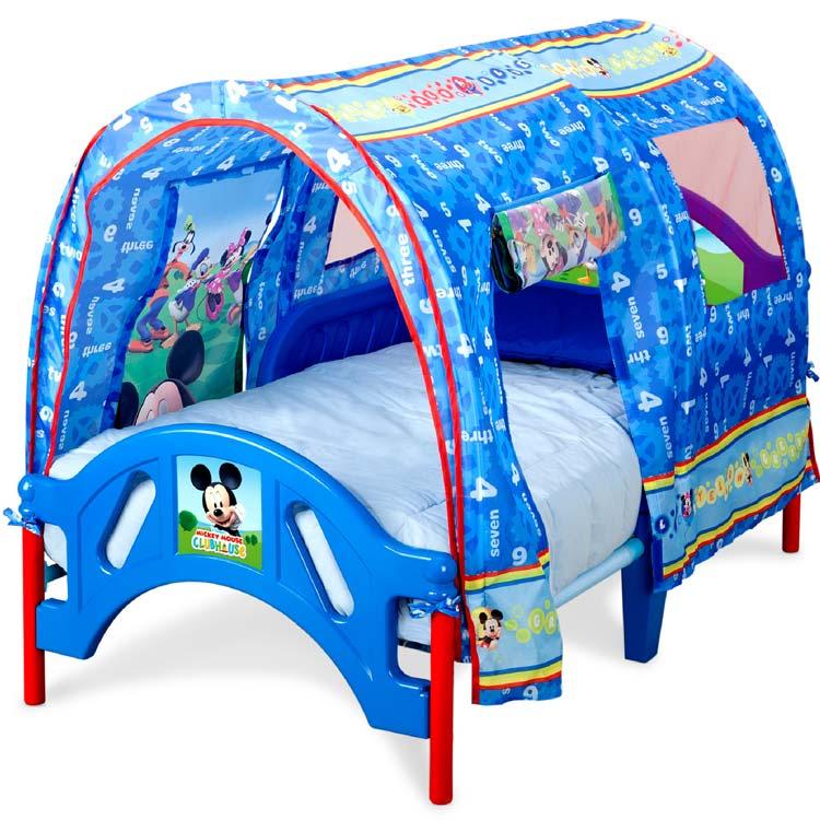 デルタ ディズニー ミッキーマウス テント付き 子供用ベッド 2歳から