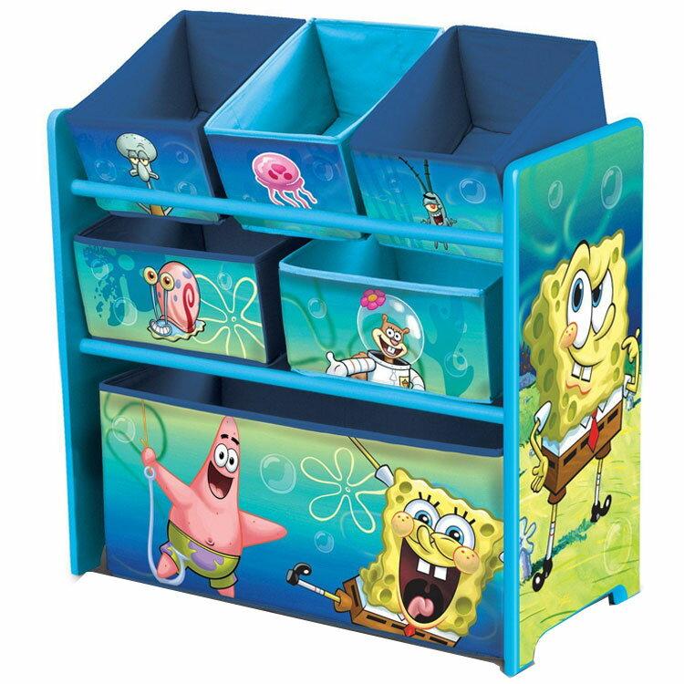 デルタ スポンジボブ マルチ おもちゃ箱 子供 3-6歳